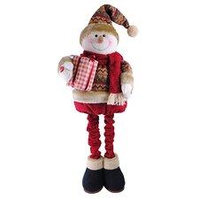 "32"" Standing Telescopic Snowman"