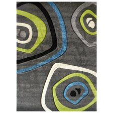 Studio 600 Charcoal Geometric Area Rug