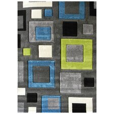 Studio 601 Charcoal Geometric Area Rug