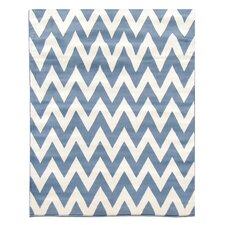 <strong>DonnieAnn Company</strong> Sculpture Blue Geometric Rug