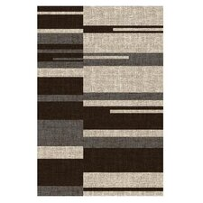 Lexington Champaign Line and Blocks Rug