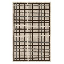 Lexington Champaign Crosshatch Rug