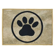 PB Paws & Co. Gold Tapestry Rug