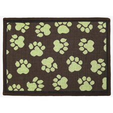 PB Paws & Co. Woodland / Green World Paws Tapestry Rug