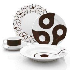 Links 20 Piece Dinnerware Set