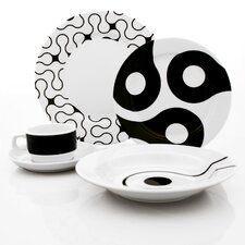 <strong>notNeutral</strong> Links 20 Piece Dinnerware Set