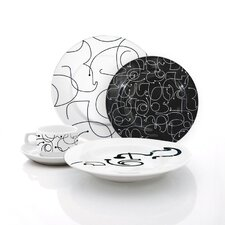 Letters Dinnerware Set