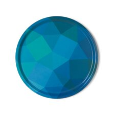 Prismatic Round Serving Tray