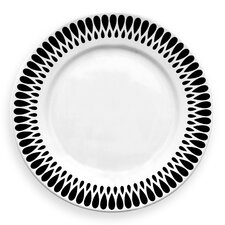 "Ribbon 10.5"" Dinner Plate Set (Set of 4)"