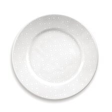 White on White Links Dinner Plate Set