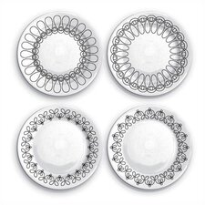 Ribbon Salad Plate Set