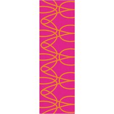 <strong>notNeutral</strong> Ribbon Orange/Pink Rug