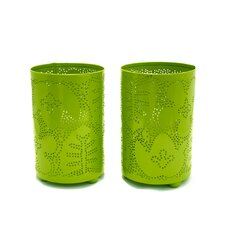 Season Metal Candle Holder (Set of 2)