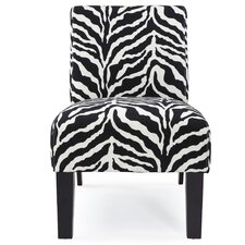 <strong>DHI</strong> Deco Zebra Fabric Slipper Chair