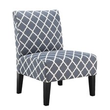 Brice Lattice Slipper Chair