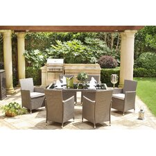 Paific Grove 7 Piece Dining Set with Cushions