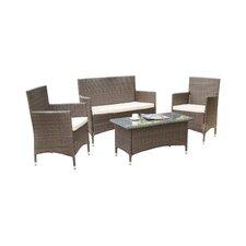 Coronado 4 Piece Deep Seating Group with Cushions