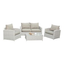 Capitola 4 Piece Deep Seating Group with Cushions