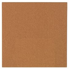 "<strong>AccoBrands</strong> 14"" x 14"" Cork Modular Natural Frameless Bulletin Board"