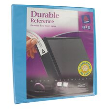"1.5"" Assorted Colors Durable Reference View Binder"