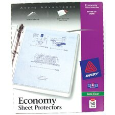 <strong>Avery</strong> 50 Count Economy Sheet Protector