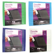 "2"" Assorted Colors Durable Reference View Binder (Set of 6)"