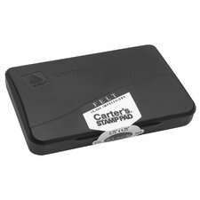 "2.75"" x 4.25"" Carter's Stamp Pad in Black"