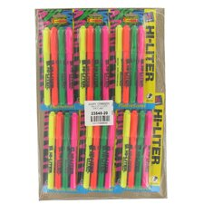 4 Count Assorted Hi-Liter Pen (Set of 6)