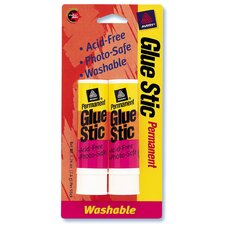 2 Count .26 Oz Permanent Glue Stic (Set of 6)