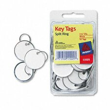 Metal Rim Key Tags