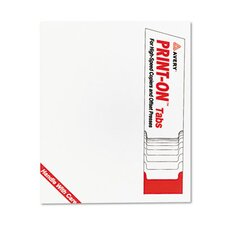 Xerox Docutech Three-Hole Index Dividers, 30 Sets