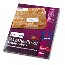 WeatherProof Durable Labels