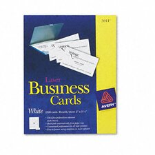 Laser Business Cards, 2500/Box