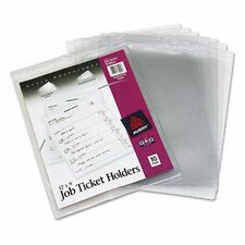 Job Ticket Holders, 10/Pack