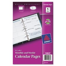 Calendar Pages Refill
