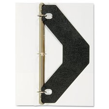 Triangle Shaped Sheet Lifter For Three-Ring Binder (Set of 2)