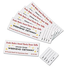 Tickets with Tear-Away Stub (200 Pack)