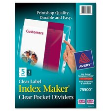 Index Maker Three Hole Punch View Divider
