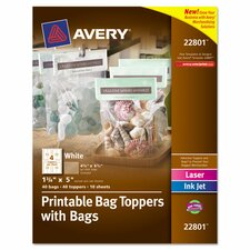 <strong>Avery</strong> Printable Bag Topper (40 Pack)