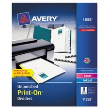 Print On Divider (5 Pack)