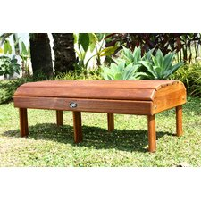 Signature Teak Adirondack Coffee Table
