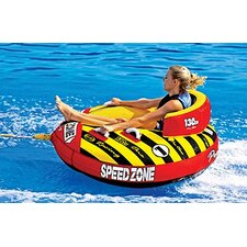 SpeedZone 1 Towable Tube with Optional 2K Tow Rope