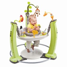 <strong>Evenflo</strong> ExerSaucer Jump and Learn Stationary Jungle Quest Bouncer