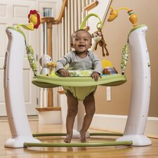 ExerSaucer Wildlife Adventure Jump and Learn Stationary Jumper