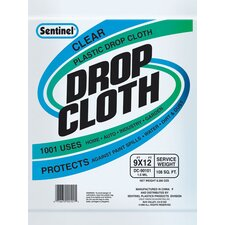 Sentinel® Clear Plastic Drop Cloths DC90050