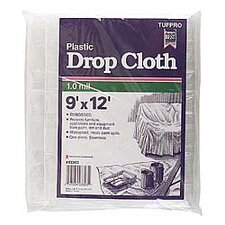 <strong>Trimaco</strong> 9' X 12' 1 Millimeter Plastic Drop Cloth 03303