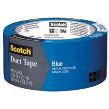 "1.88"" x 20 Yards Blue Duct Tape 1020-BLU-A"