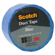 "1.5"" X 5 Yards Blue Scotch® Duct Tape 1055-BLU-1P"