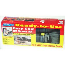 Ready-To-Use Easy Slip RV Sewer Kit