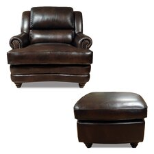 Bentley Arm Chair and Ottoman